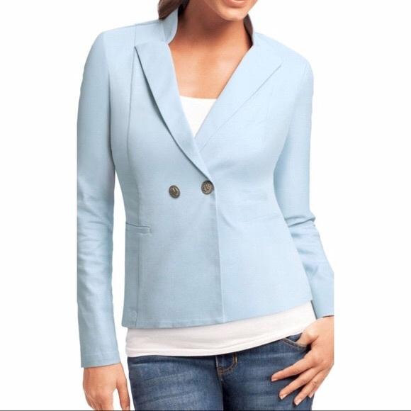 CAbi Jackets & Blazers - CAbi Wedgewood Nautical blue blazer